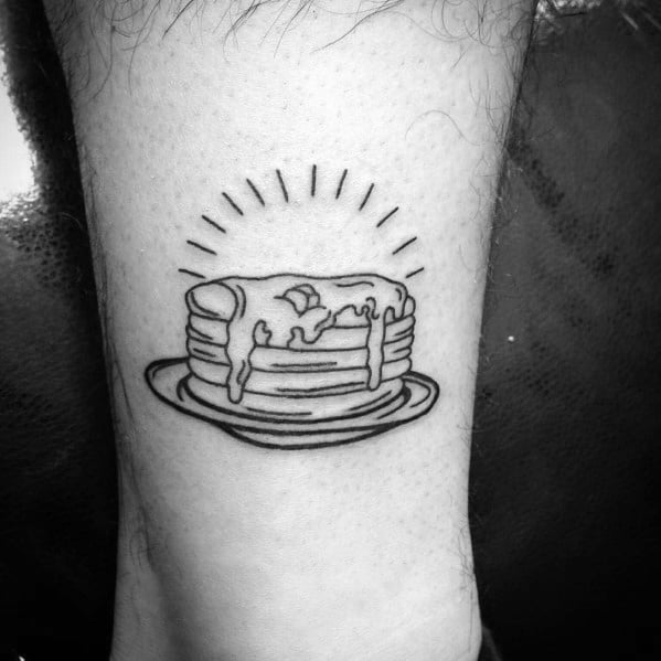 Male With Pancake Tattoos