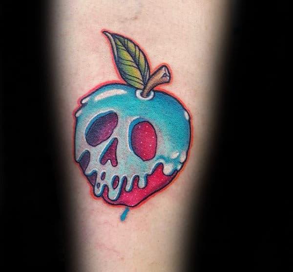 100+ Cool Apple Tattoos   Apple Design Best Tattoos