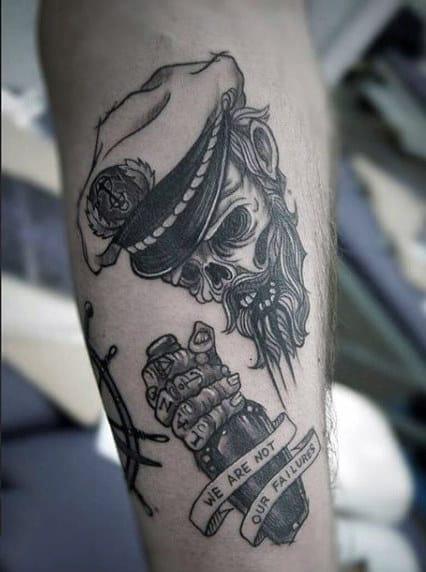 Males Tattoo Pirate