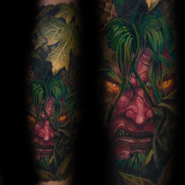 Malfurion Stormrage Detailed Mens World Of Warcraft Tattoo Design Ideas