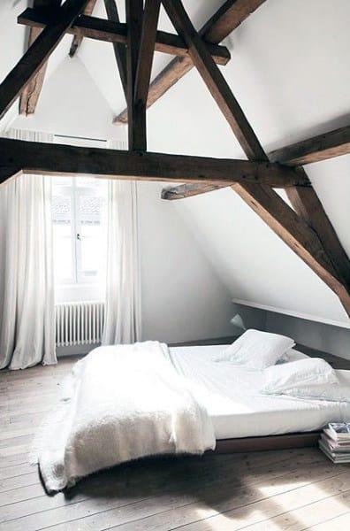 Man Bedroom Ideas White Simplistic Design