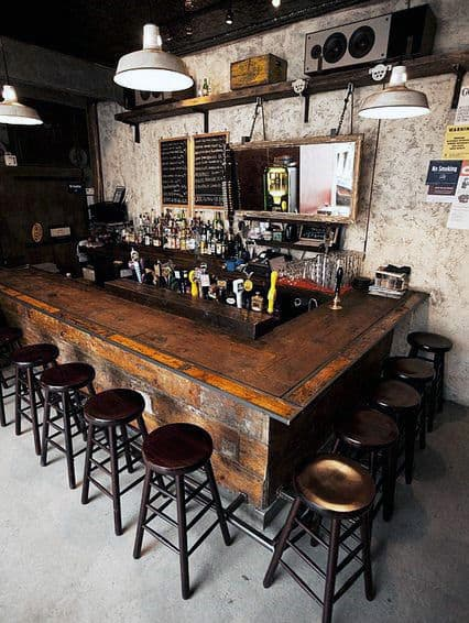 Man Cave Bar Inspiration