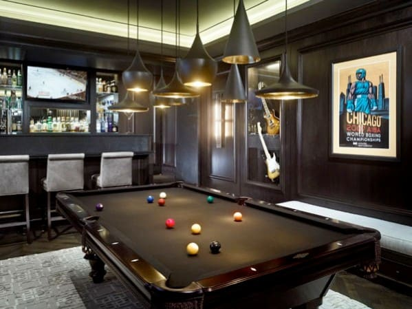 50 Masculine Man Cave Ideas Photo Design Guide