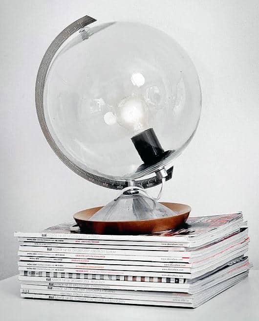 Man Cave Decor Glass Bulb With Light