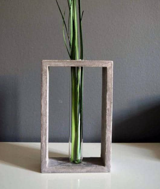 Man Cave Decor Plant In Wood Frame