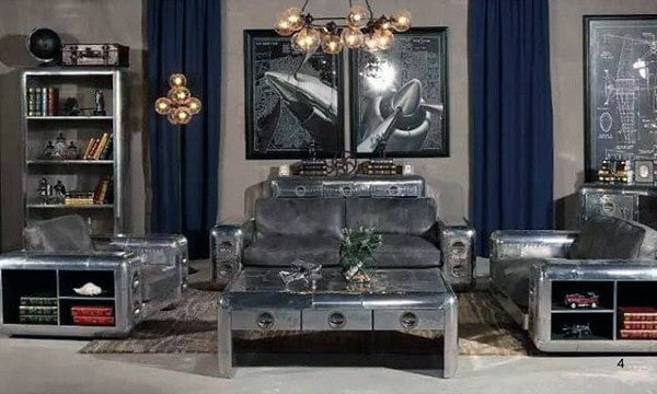 Man Cave Furniture Aluminum Designs