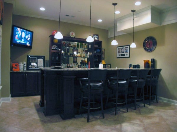 Man Cave Home Bar Ideas