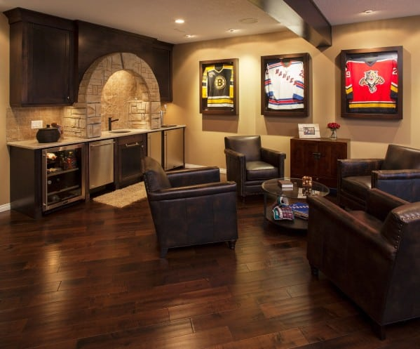 50 masculine man cave ideas photo design guide next luxury for Design a man cave