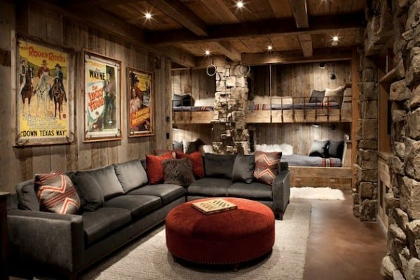 Man Cave Interior Ideas : Masculine man cave ideas photo design guide next luxury