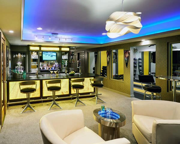 Man Cave Room Bars