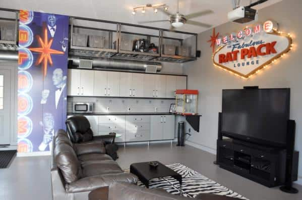 Man Cave Masculine Room