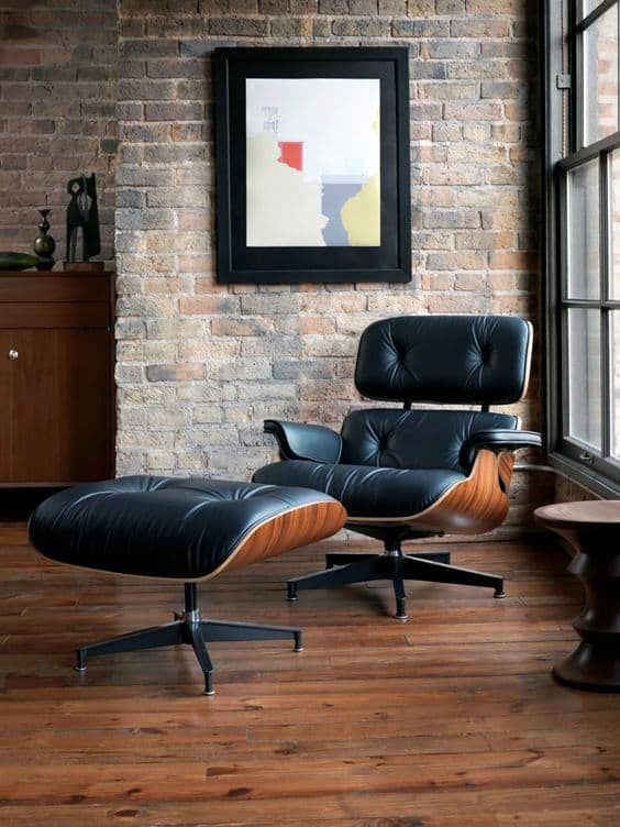 Man Cave Seating Ideas Eames Lounge Chair