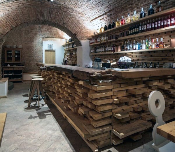 50 man cave bar ideas to slake your thirst manly home bars for Design a man cave