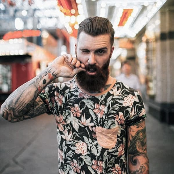 Man Cool Beard Styles
