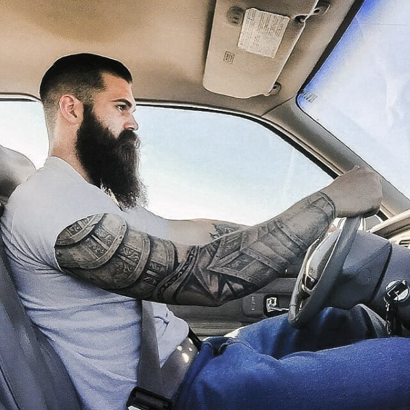 Man Manly Beard Styles