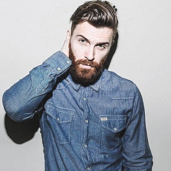 Man Medium Beard Styles