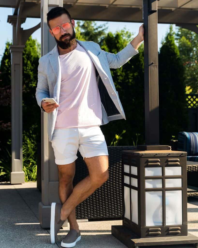 Style de costume homme