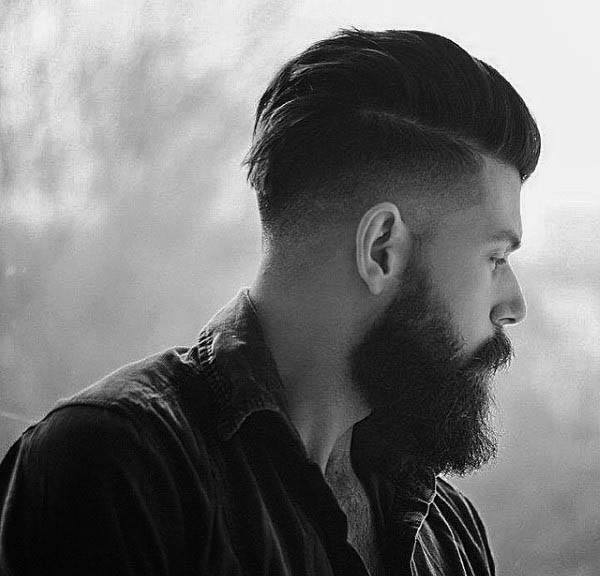 Man With A Low Fade Haircut
