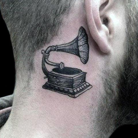 100 Ear Tattoos For Men Inner And Outer Design Ideas
