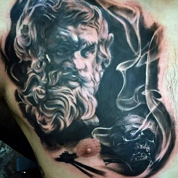 50 Smoke Tattoos For Men - Manly Matter To Spirit Designs