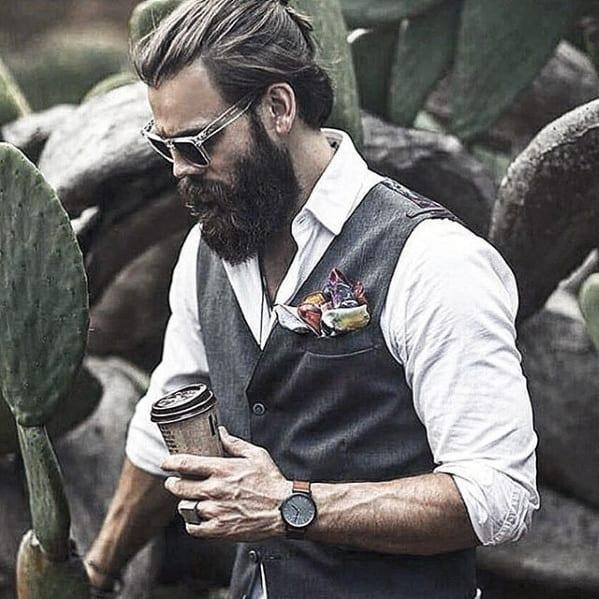 Man With Cool Classy Beard