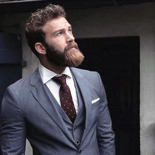 Man With Cool Nice Beard