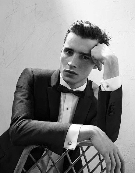Man With Formal Attire And Classy Haircut
