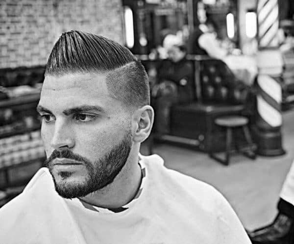 Man With Low Taper Fade Haircut
