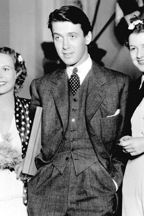 Man With Medium Length 1930 Haircut