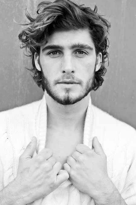 Amazing 50 Long Curly Hairstyles For Men Manly Tangled Up Cuts Hairstyles For Women Draintrainus