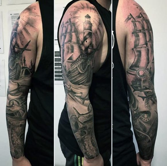 Sailor Tattoos Sleeve