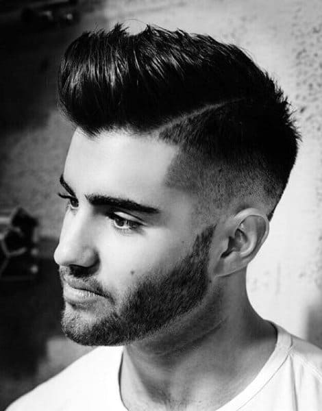 Man With Skin Fade Hair Style
