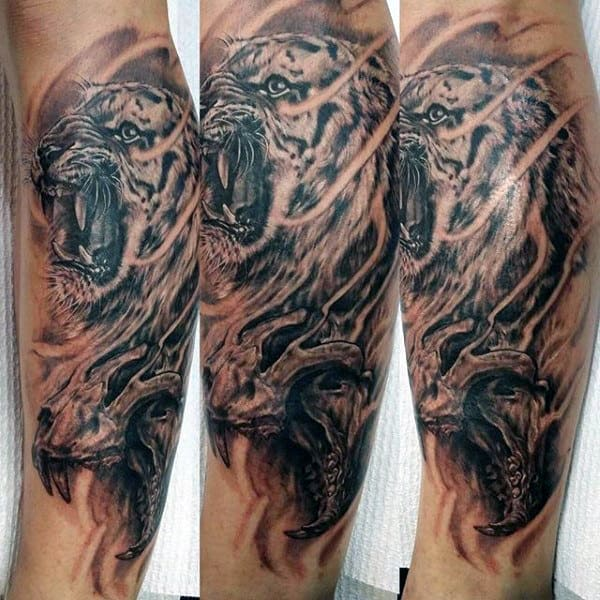 2cdf839ca 100 Tiger Tattoo Designs For Men - King Of Beasts And Jungle