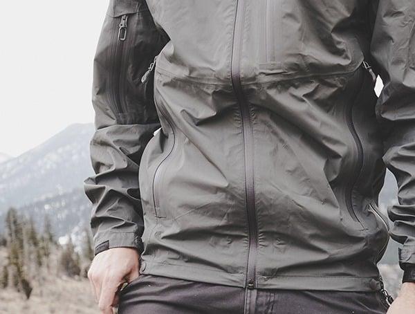 Manatee Grey Mens Beyond Clothing K6 Arx Rain Jacket Reviews