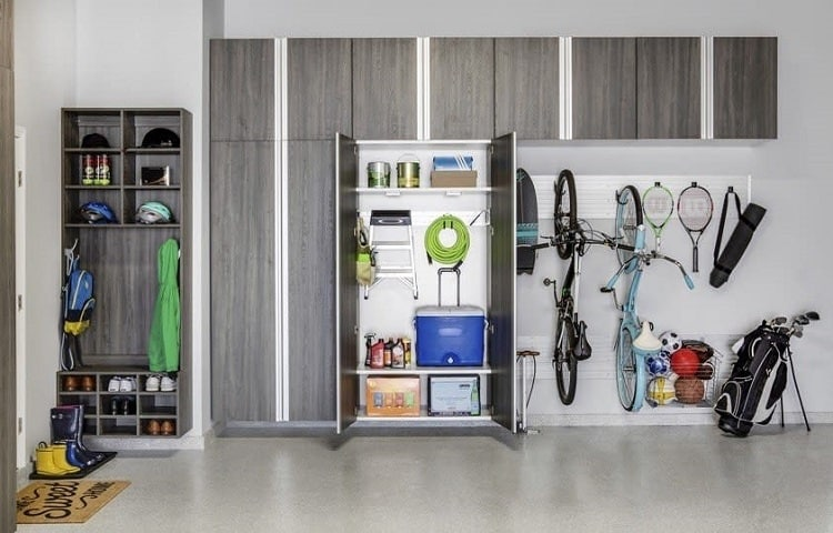 Mancave Garage Storage System Tailoredlivingnhouston