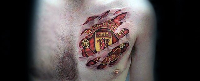 Manchester United Tattoo Designs For Men