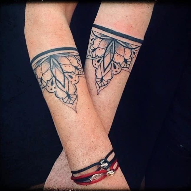 Mandala Partner Tattoo