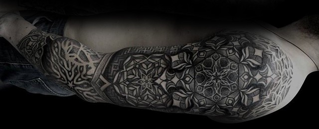 5bd2fc849 70 Mandala Tattoo Designs For Men – Symbolic Ink Ideas