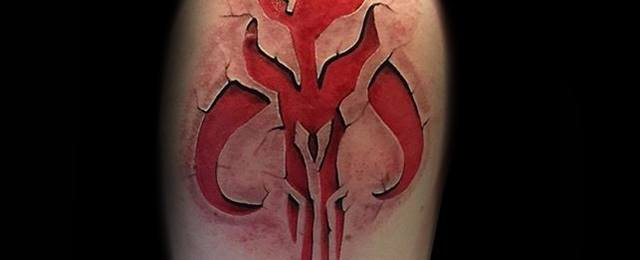 40 Mandalorian Tattoo Designs For Men - Star Wars Ink Ideas