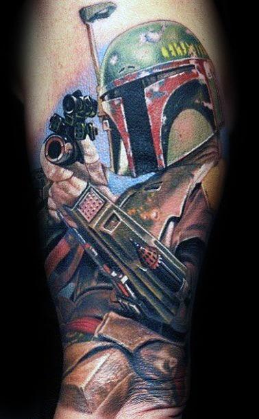 Mandalorian Tattoo Ideas For Males