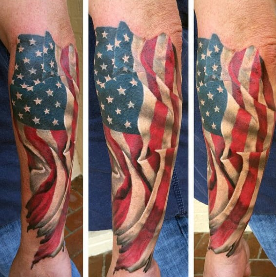 90 patriotic tattoos for men nationalistic pride design ideas. Black Bedroom Furniture Sets. Home Design Ideas