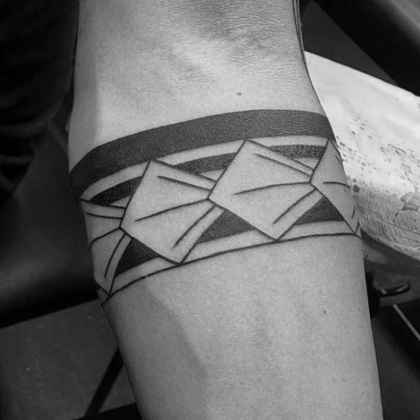 Manly Armband Tribal Male Tattoos