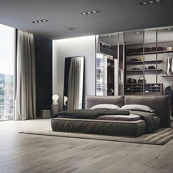 Luxury Men Bedrooms 80 bachelor pad men's bedroom ideas - manly interior design