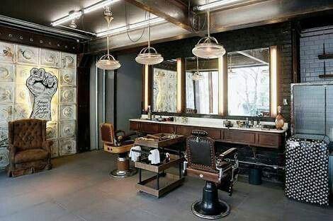 Manly Barber Design Ideas