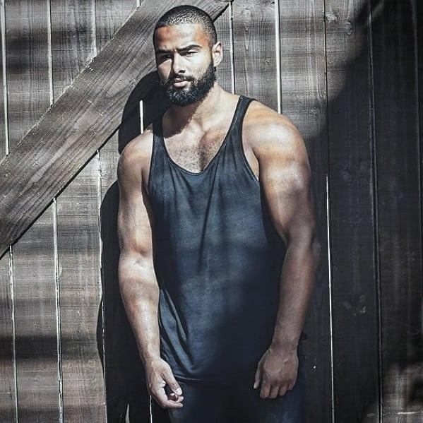 Manly Beard Styles For Black Men