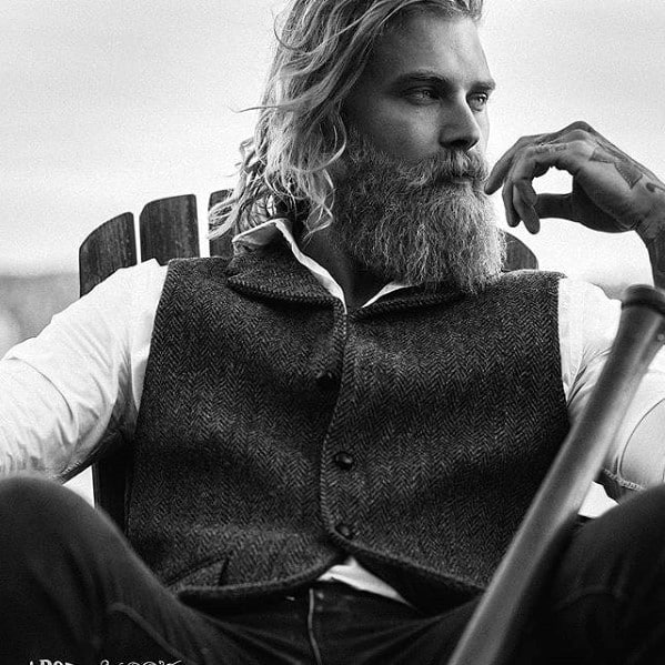Manly Beard Styles Male