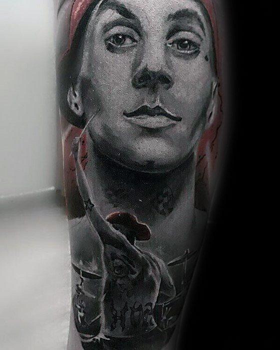 Manly Blink 182 Tattoo Design Ideas For Men