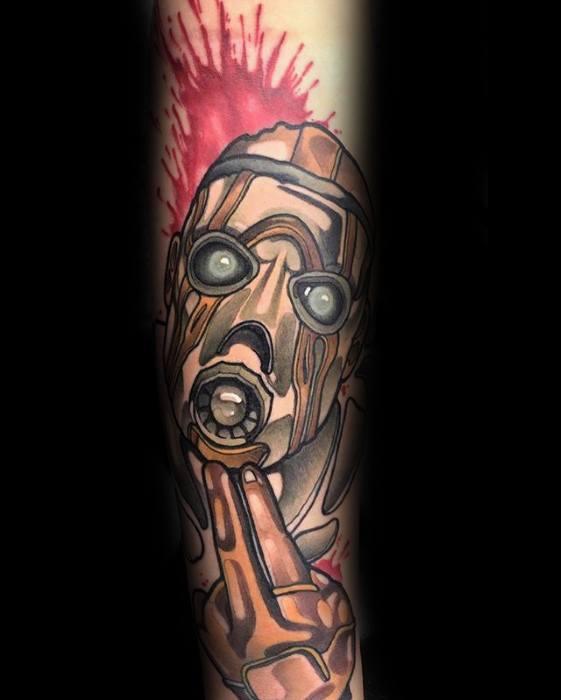 Manly Borderlands Tattoo Design Ideas For Men