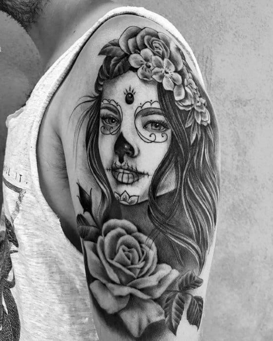 Manly Catrina Tattoo Design Ideas For Men
