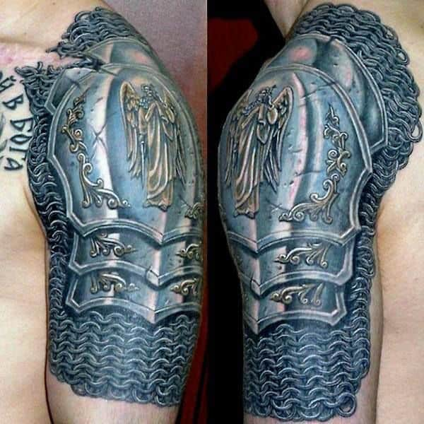 70 armband tattoo designs for men masculine ink ideas - 40 Chain Tattoos For Men Manly Designs Linked In Strength